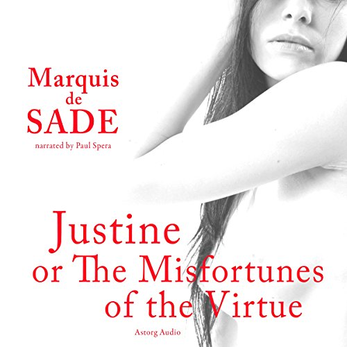 Justine, or The Misfortunes of the Virtue audiobook cover art