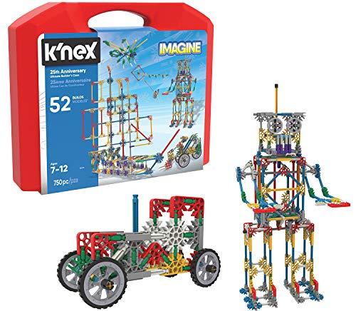 K'NEX K`Nex - Imagine 25th Anniversary Ultimatebuilder's Case Building Kit, Varies by Model