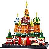 LHY Juego de construcción, 2894PCS microgranulada Mini Bloques de construcción, Modelo 3D Puzzle Infantil de Juguetes educativos de la construcción, for el Regalo de los niños Moda