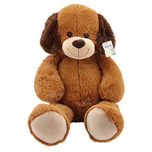 Sweety Toys 10172 Hund BARRY Plüschhund Kuschelhund XXL Riesen Teddy BRAUN 100 cm