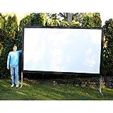 Visual Apex Projector Screen 144HD Portable Indoor/Outdoor Movie Theater...