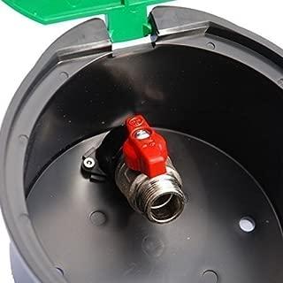 Válvula Rain bird Runder VBA 17186 con grifo esférico, caja de distribuición, caja valvula