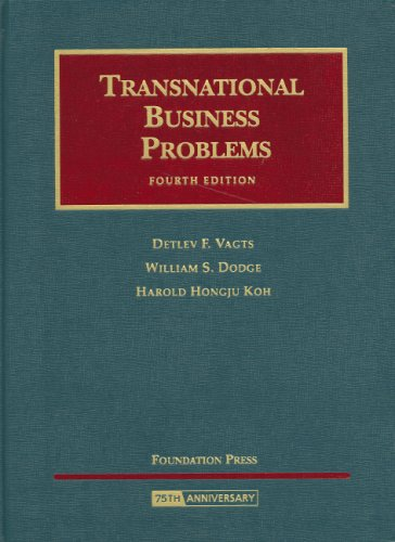 Transnational Business Problems, 4th Edition