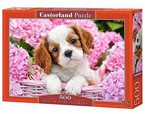 Castorland Castro 500 el.Pup in Pink Flowers [Puzzle]