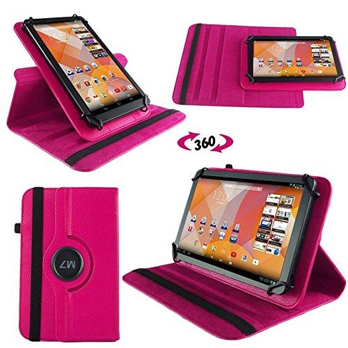 NAUC Tasche Hülle für Blaupunkt Endeavour 101M 101L Tablet Schutzhülle Hülle Tab Cover, Farben:Schwarz