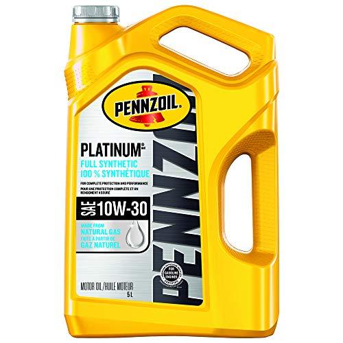 Pennzoil Platinum Synthetic 10W-30 Motor Oil, 5L - (Single Pack)