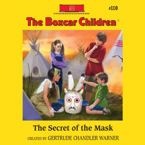 The Secret of the Mask audiobook cover art