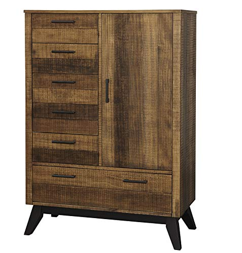 Cheapest Price! Westwood Design Urban Rustic Brushed Wheat, Chifferobe