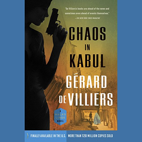 Chaos in Kabul audiobook cover art