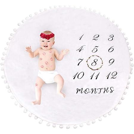 fond pour nouveau-n/é Photo Prop cadeau de couverture de photographie de b/éb/é Couverture Baby Milestone