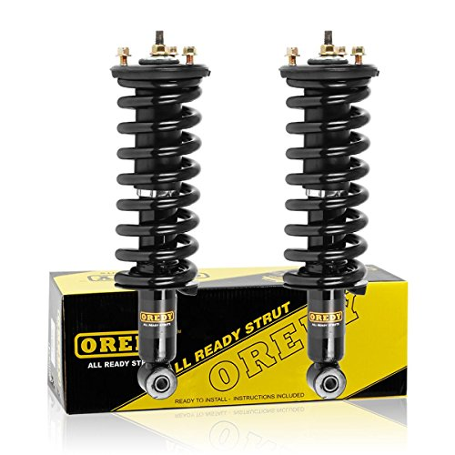 OREDY 171103 11290 Front Struts 2PCS Shocks And Struts Assembly Complete Struts Shock Coil Spring Assembly Kit Compatible with PATHFINDER 2005-2012 Replacement for XTERRA 2005-2015 Struts