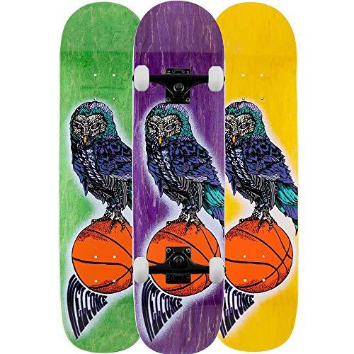 Welcome Hooter - Skateboard completo Bunyip Multi 8'