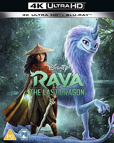 Raya & the Last Dragon UHD [Blu-ray] [UK Import]