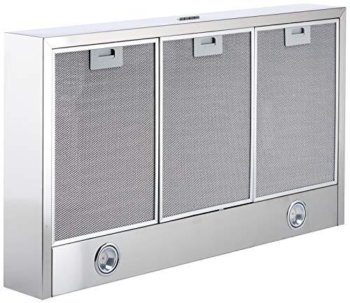 Bosch DHU965EL Serie 4 Unterbauhaube / D / 90 cm / Edelstahl / wahlweise Umluft- oder Abluftbetrieb / Kurzhubtasten / Intensivstufe / Metallfettfilter (spülmaschinengeeignet)