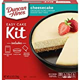 Duncan Hines Easy Cake Kit Cheesecake Filling & Crust Mix, 6.1 OZ