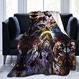 Misericordia simetra Magic 3D nerf pistolas soldado Ultimate lucio winston overwatch 1 edición legendaria sillón cubre una manta súper suave para todas las temporadas 60 x50