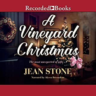 Page de couverture de A Vineyard Christmas