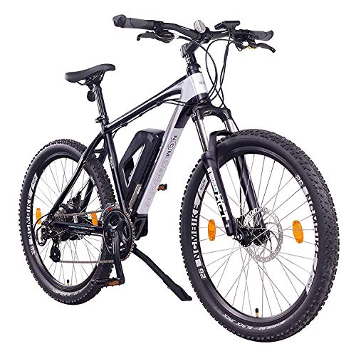 NCM Prague Bicicletta elettrica Mountainbike, 250W, Batteria 36V 13Ah 468Wh (26' Nero)