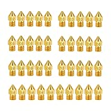 3D Printer Extruder Nozzles 0.2mm 0.3mm 0.4mm 0.5mm 0.6mm 0.8mm 1.0mm for Anet A8 Makerbot MK8 Creality CR-10 Ender 3 Ender 5 IRCHLYN (40 Pcs)