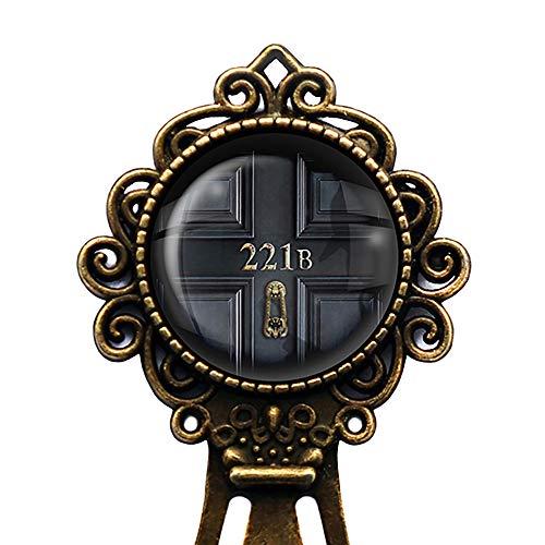 Sherlock Holmes Room 221B Lesezeichen