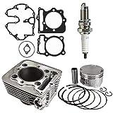 NICHE 397cc Cylinder Piston Gasket Top End Kit For Honda Sportrax TRX400 XR400R 1996-2014 12100-HN1-A70