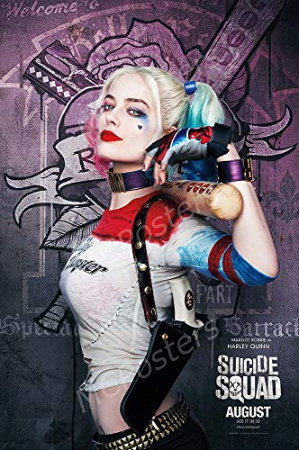51KAoXjcVtL Harley Quinn Suicide Squad Posters