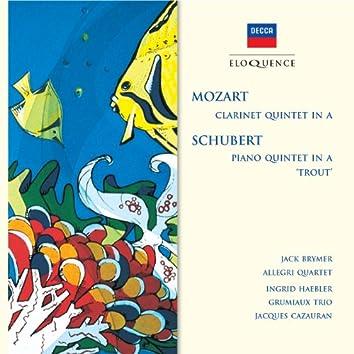 "Mozart: Clarinet Quintet in A; Schubert: Piano Quintet in A - ""Trout"""