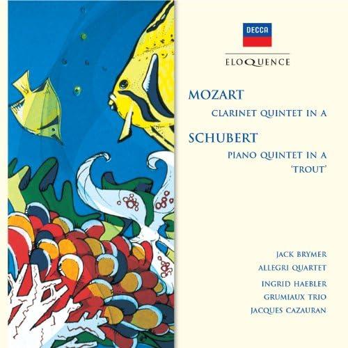 Jack Brymer, The Allegri String Quartet, Ingrid Haebler, Grumiaux Trio & Jacques Cazauran