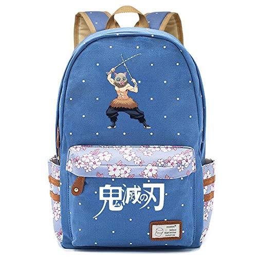 WWAN-YU Zaino Floreale Per Uomo E Donna Con Zainetto Per Studenti Anime Devil'S Bladeanime Cartoon Zaino Zaini Per Pc Portatili Unisex Cartelle Per La Scuola,42X30X14.5CM,A9