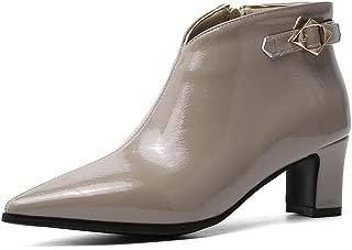 BalaMasa Womens ABS13938 Pu Boots