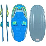 ZUP You Got This 2.0 Board, All-in-One Kneeboard, Wakeboard, Wakeskate, and Wakesurf Board for All Ages, Silver