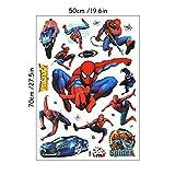 Super Drôle Mario Bros Anime Stickers Muraux 3D Affiche De Jeu Stickers En Vinyle...
