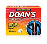 Doan's Extra Strength Pain Reliever Caplets, 24 Count, Extra Strength Caplets...