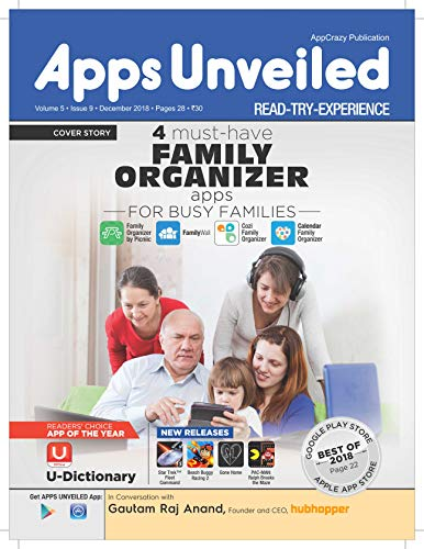 Apps Unveiled: December 2018 (English Edition)