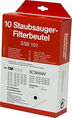 ORIGINAL Bomann Staubsaugerbeutel-Set für BS 985 CB