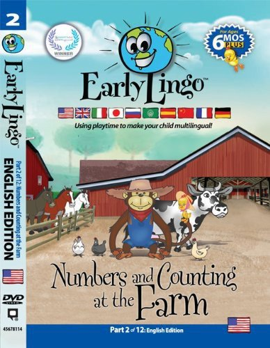 Early Lingo Numbers and Counting at The Farm DVD (Part 2 English)