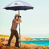 EasyGoProducts Tallbrella - Paraguas deportivo para artista, fotografía, 48 pulgadas, redondo, modelo: EGP-UMB-014