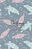 2021-2026 Christmas Card Address Book with Tabs: 6 Year Address Book and Tracker for Holiday Card Mailings You Send and Receive