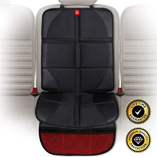 ROYAL RASCALS - Protector para el asiento del coche - Protege la tapicería con una cubierta acolchada - Isofix -...