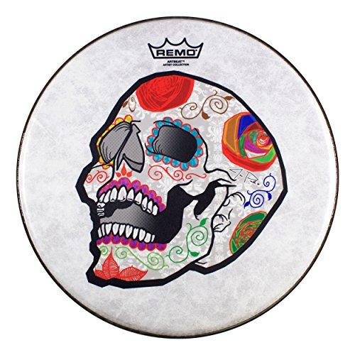 Remo cs-0814–20-ab002artbeat Künstler Collection Scruggs–José PASILLAS, Candy Skull