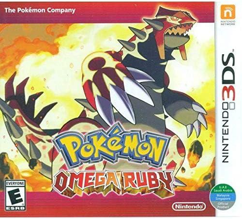 3DS Pokemon Omega Ruby World Edition product image