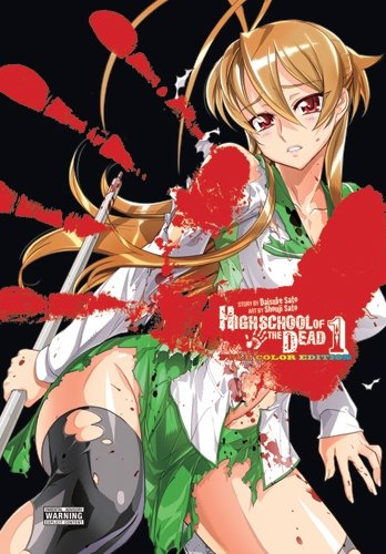 Highschool of the Dead Color, Full Color Edition