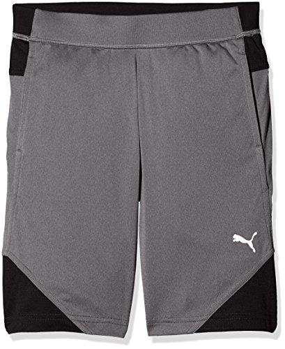 PUMA (PUMAE) PUMA Kinder Gym Poly Shorts Hose, medium Gray Heather, 152