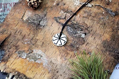 Øld Slavic Lada Gøddes Solar Crøss Sunwheel Simple amulet,Paganism symbol,Celtic heathen,Ethnic,Viking Women Native Faith,organic talisman
