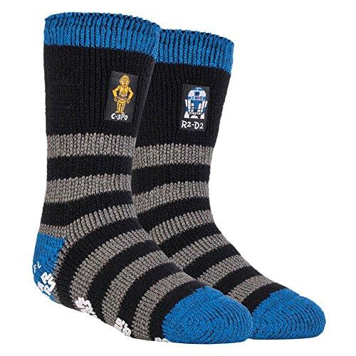 Heat Holders - Mens and Boys Disney Star Wars Thermal Slipper Socks in 3...