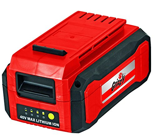 Grizzly Tools 40 Volt (2,5 Ah) Lithium...