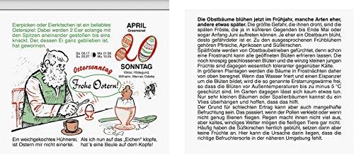 BRUNNEN 107031403 Tages-Abreißkalender Gärtner Pötschke (1 Seite = 1 Tag, 110 x 90 mm, Kalendarium 2020)
