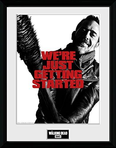 The Walking Dead ウォーキング デッド ピクチャー ニーガン 16 x 12 / ポスター