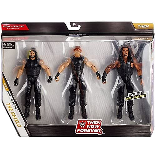 WWE, Elite Collection, Then Now Forever Seth Rollins, Dean Ambrose, and Roman