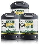 Pack 3 fûts de 6 litres - Compatibles avec la tireuse Perfectdraft - 15 euros de consigne INCLUS (Goose Island Session...
